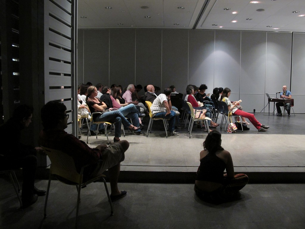 At Beta Local and Colegio de Arquitectos, San Juan, Puerto Rico, 2010