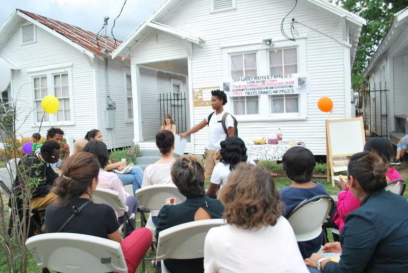 Sidewalk Talk: Youth Speak, led by journey