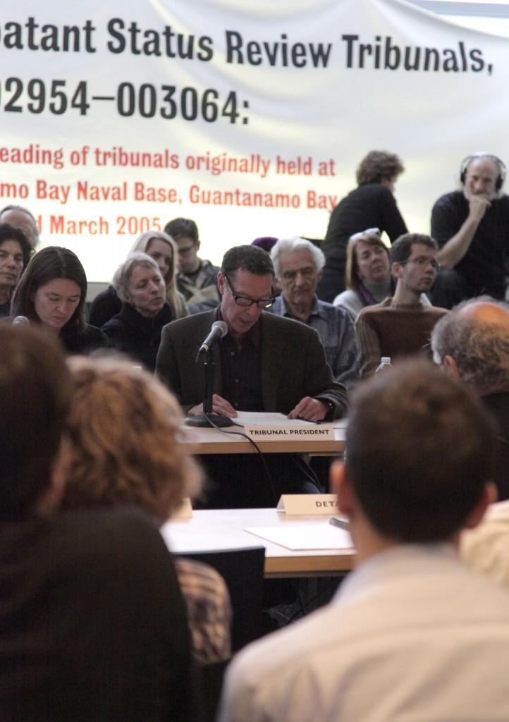 Combatant Status Review Tribunals pp. 002954-003064: A Public Reading