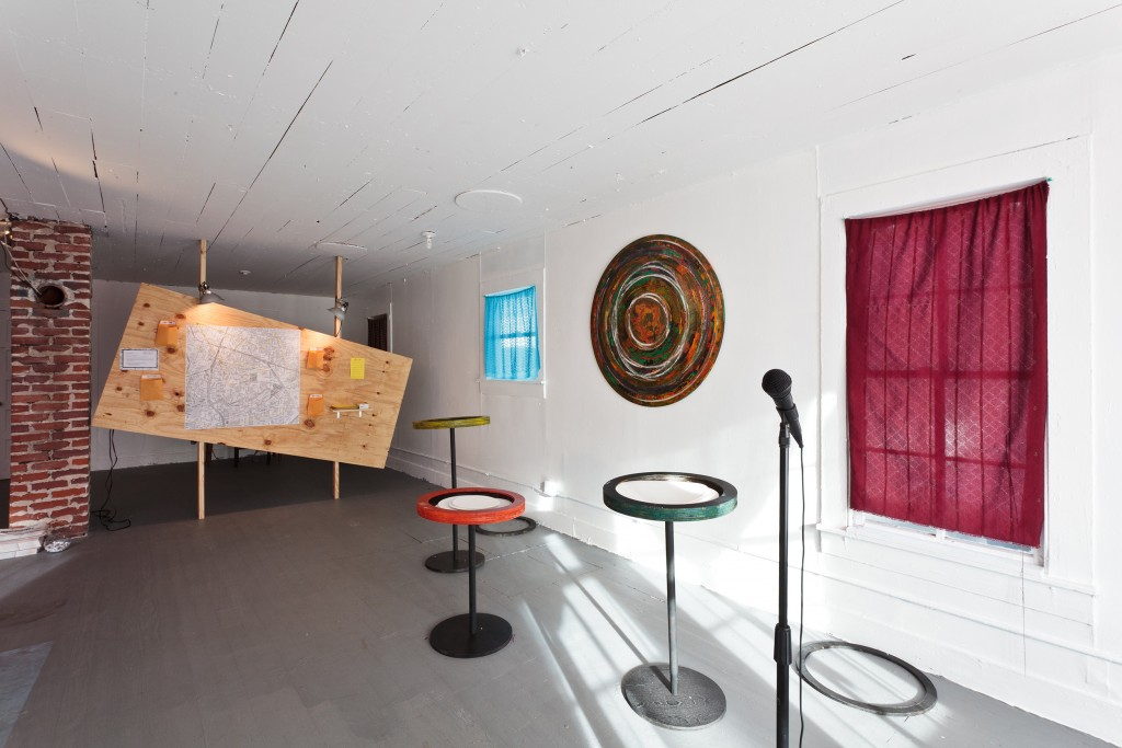 """""""Communograph House"""" Installation, with Michael Khalil Taylor,"""