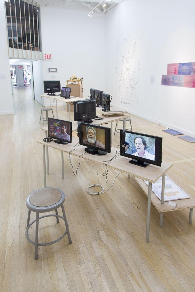 At Cue Art Foundation, 2014