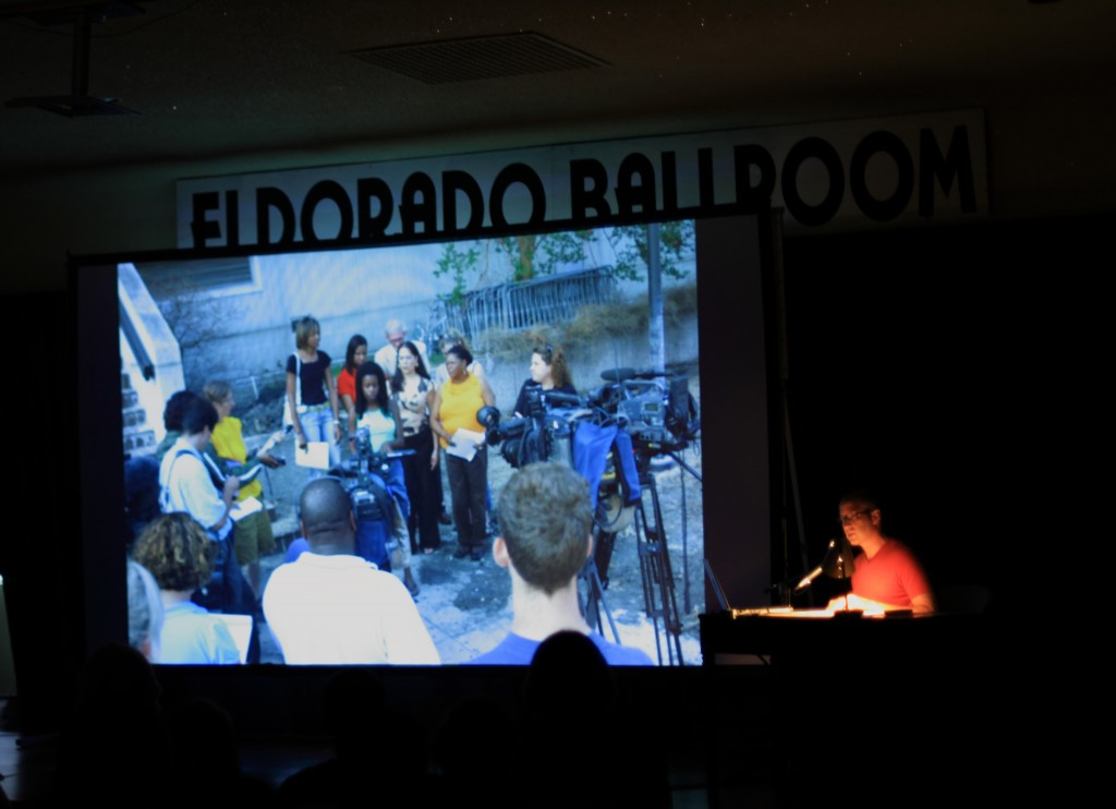 At Eldorado Ballroom at Project Row Houses, 2010
